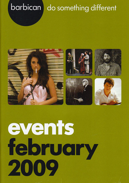 Barbican brochure February 2009