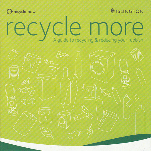 Recycle More brochure