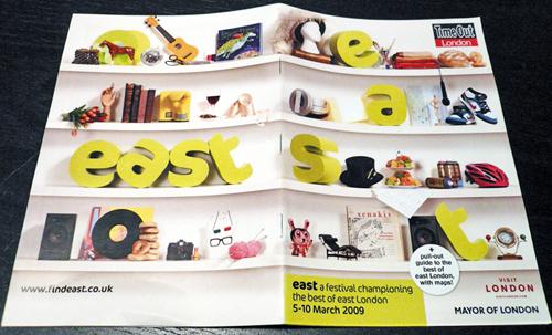 east Festival 2009 brochure
