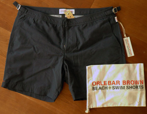 ORLEBAR BROWN BULLDOG CLASSIC BEACH SHORTS