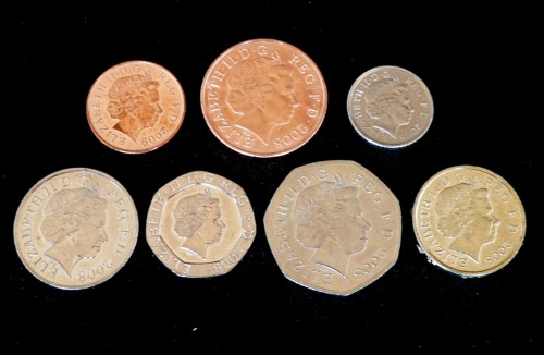 Pound Sterling Coins