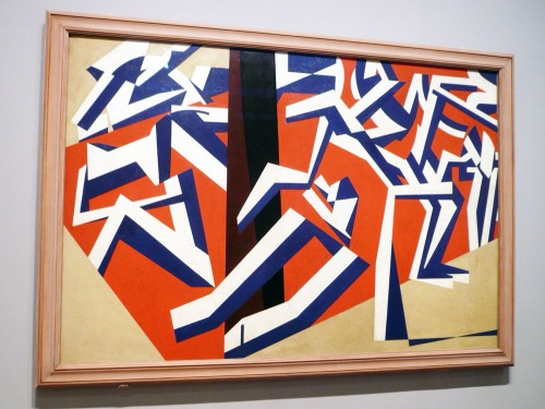 The Mud Baths by David Bomberg