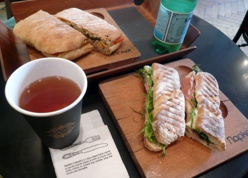 Napket Sandwiches