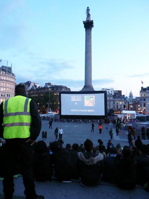 London Film Festival @ Trafalgar Square