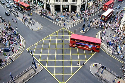 Oxford Circus Crossing – before