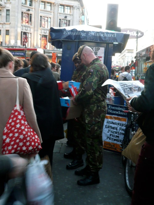 Poppy Appeal @ Oxford Circus